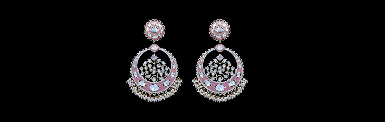 Nuvo Polki Earrings