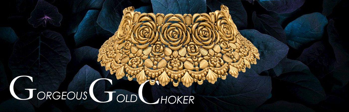 Gold Chokers